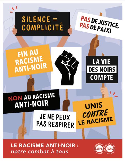Anti-Black racism Poster