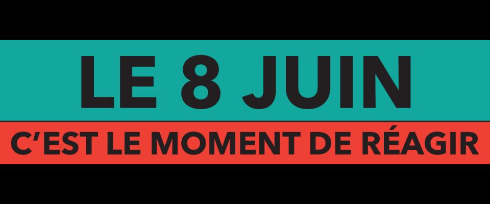Bannière du 8 juin