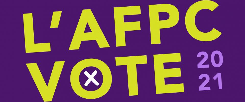 L'AFPC vote 2021