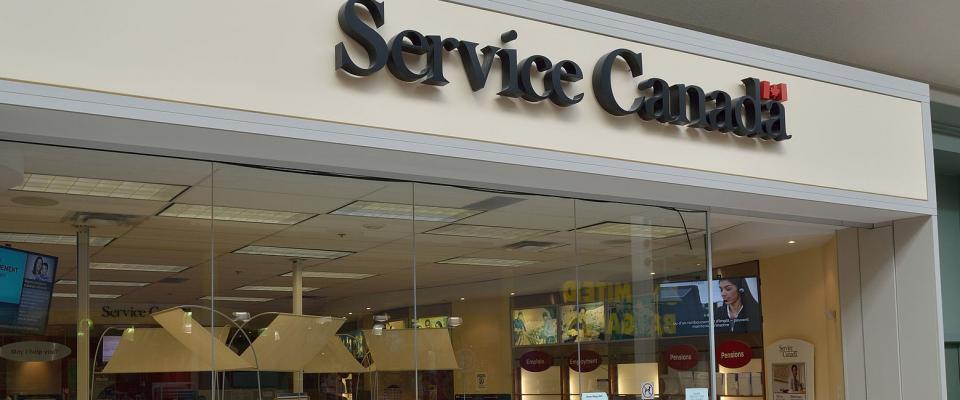 Service Canada facility