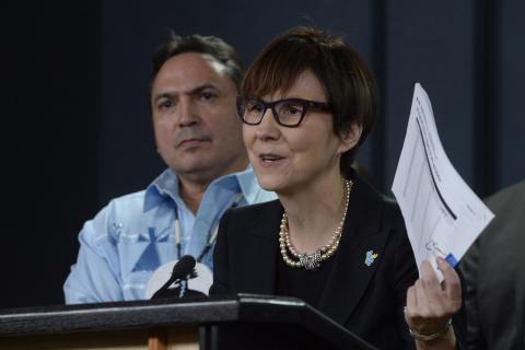 Mme Blackstock, directrice générale de la Société de soutien à l'enfance et à la famille des Premières Nations du Canada