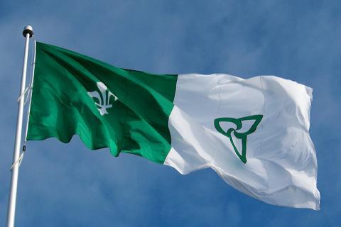 drapeau-franco-ontarien