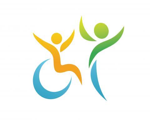 exemple de symbole de soutien aux personnes handicapées