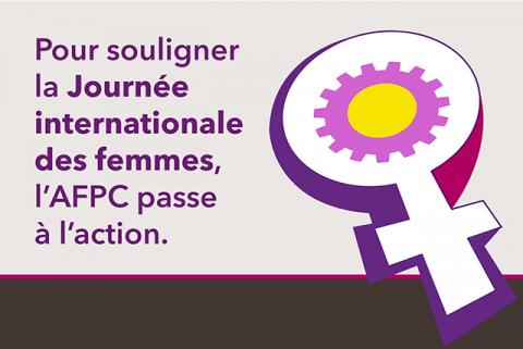 L'AFPC souligne la Journée internationale des femmes