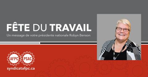 Robyn Benson, présidente nationale