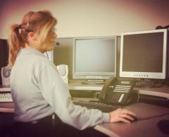 Opératrice en télécommunications