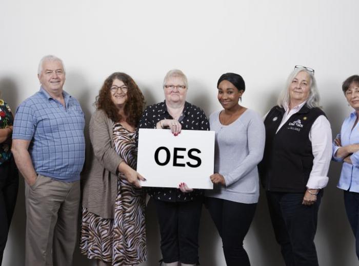 Photo de l'équipe de négociation des OES