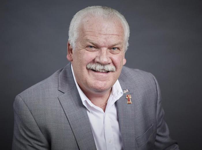 Chris Aylward, président national