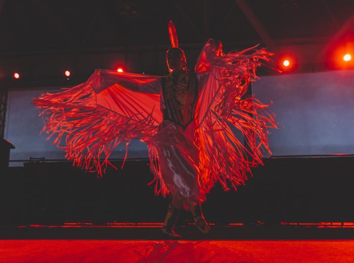 danseuse autochtone