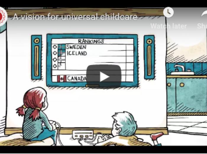 Vidéo sur les services de garde d'enfants 2020