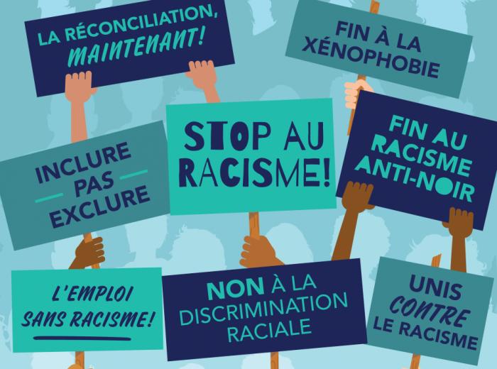 Fin au racism!