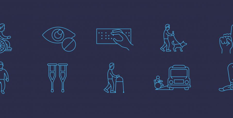 Accessibility symbols