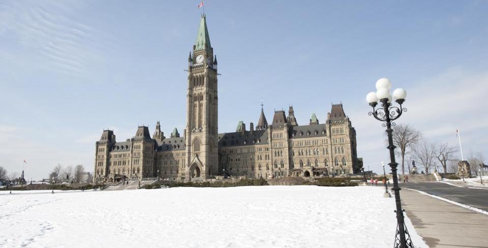 Parlement en hiver