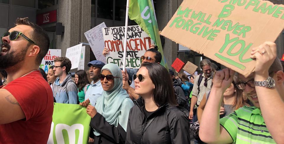 Climate change demo