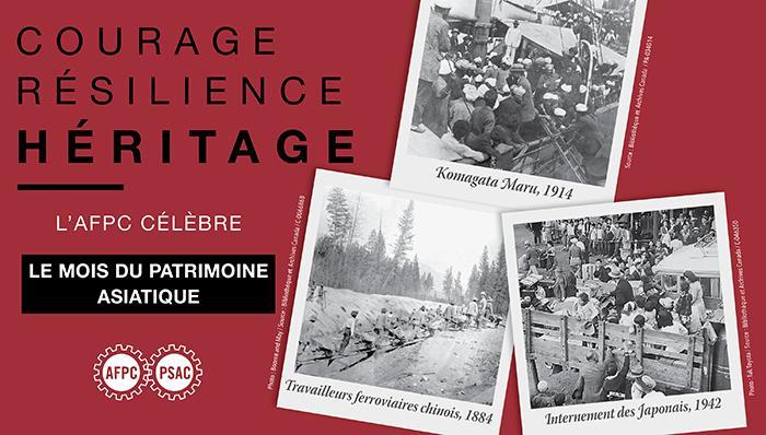 Le Mois du patrimoine asiatique : courage, résilience, héritage