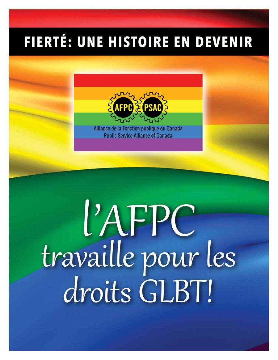 Fierté une histoire en devenir: l'AFPC travail pour les droits GLBT