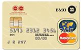 Carte de crédit Mastercard de BMO avec logo de l'AFPC.