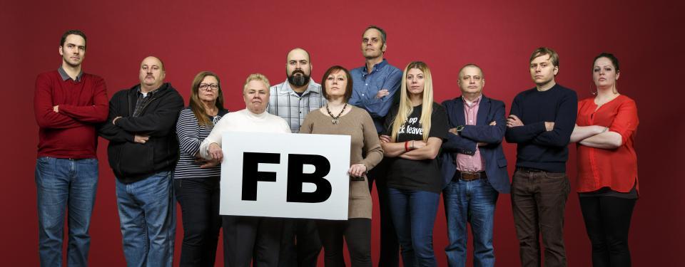 L'équipe de négociation du groupe FB