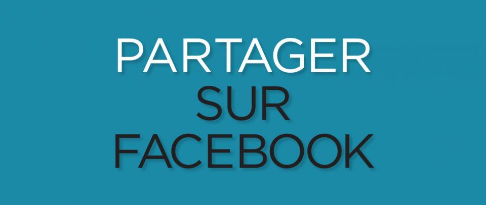 Partagez sur Facebook