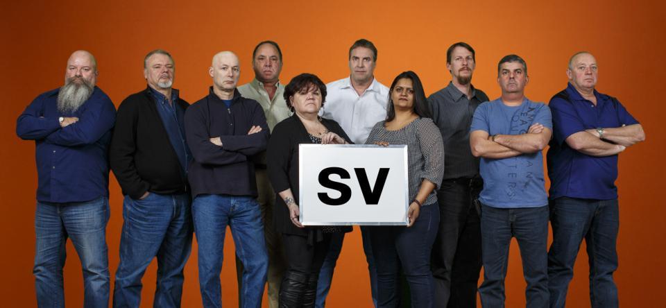 Équipe de négociations - groupe SV