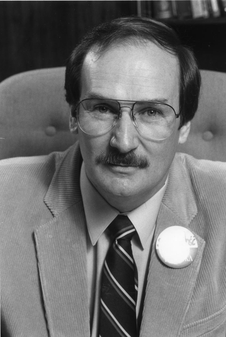 Pierre Samson, président de l'AFPC de 1982 à 1985
