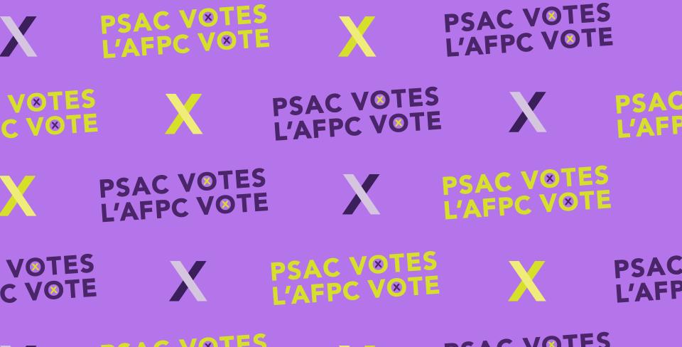 PSAC votes 2021