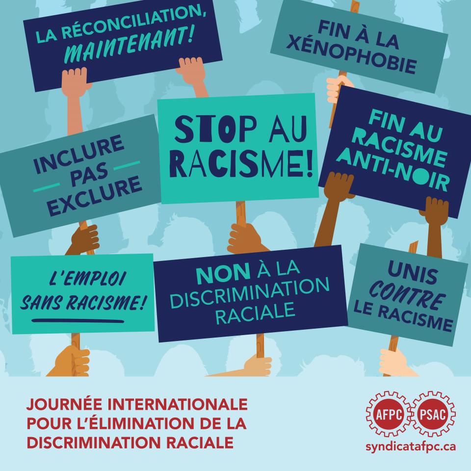Affiche de signes de protestation