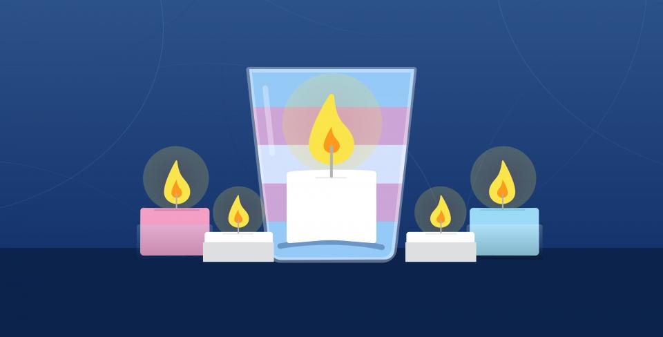 Chandelles Journée du souvenir trans