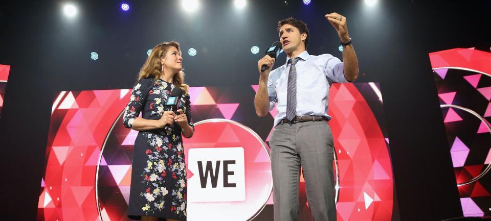 Sophie Grégoire et Justin Trudeau