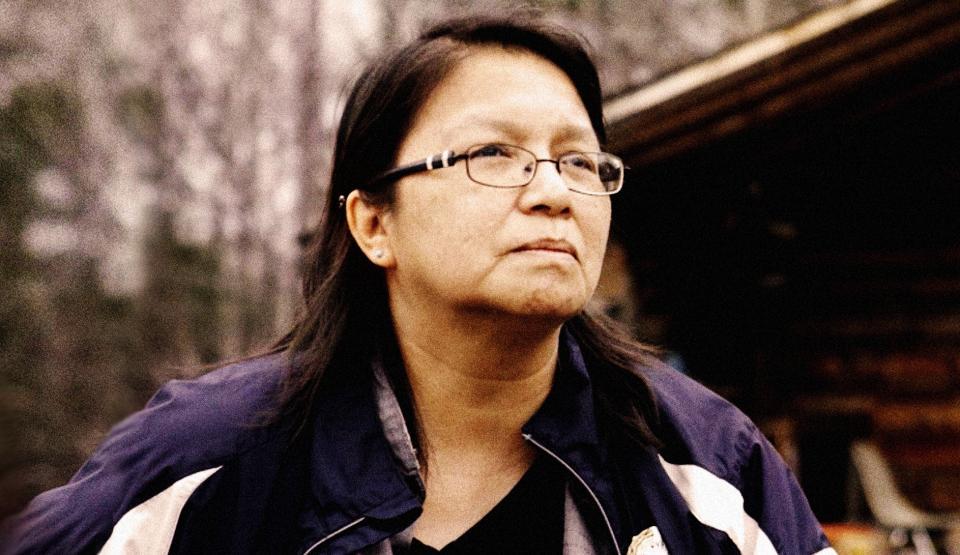 femme autochtone