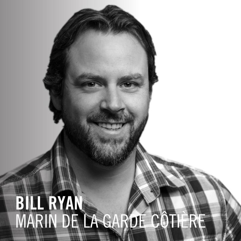 Bill Ryan , Marin de la Garde côtière à St. John's.