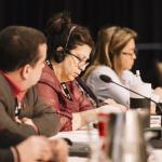 Conférences nationales Équité 2017: Lors des séances plénières