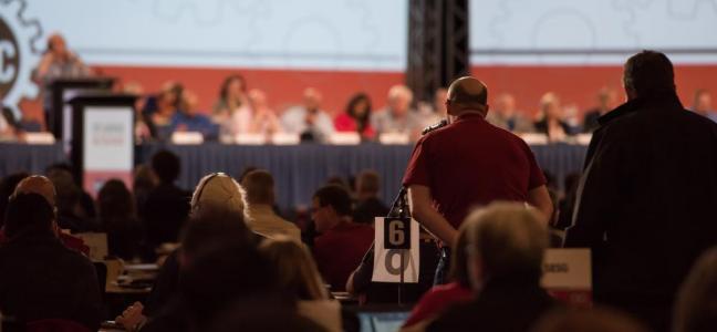 Plénière de convention