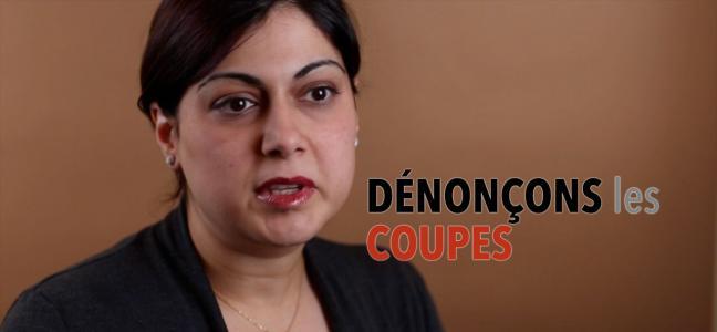 Nouvelle vidéo de l'AFPC intitulée « Ensemble, contre les compressions » et mettant en vedette des membres de l'AFPC