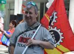 Les membres de la RCN défendent les services publics