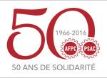 Le logo du 50e anniversaire de l'AFPC