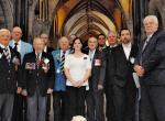 Groupe de vétérans sur la Colline parlementaire